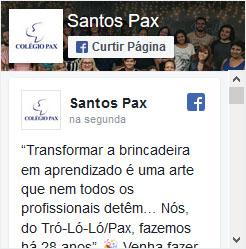 Colégio Pax Ensino Fundamental em Santos